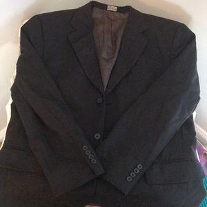 Jos. A. Bank charcoal gray suit - size 42 short